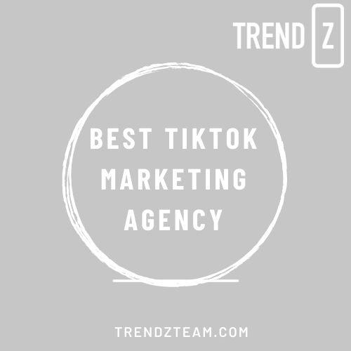 Best TikTok Marketing agency