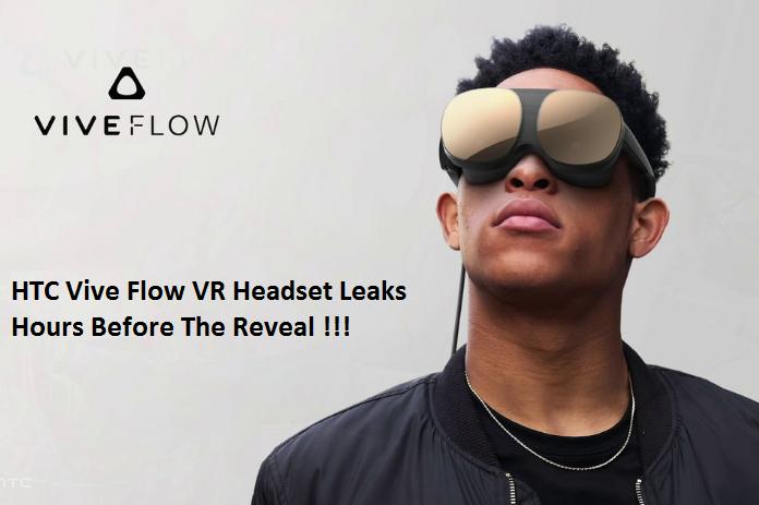 HTC Vive Flow VR headset